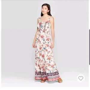 NWT! Knox Rose Printed Sleeveless Maxi Dress